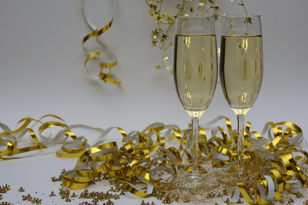 Happy New Year Toast